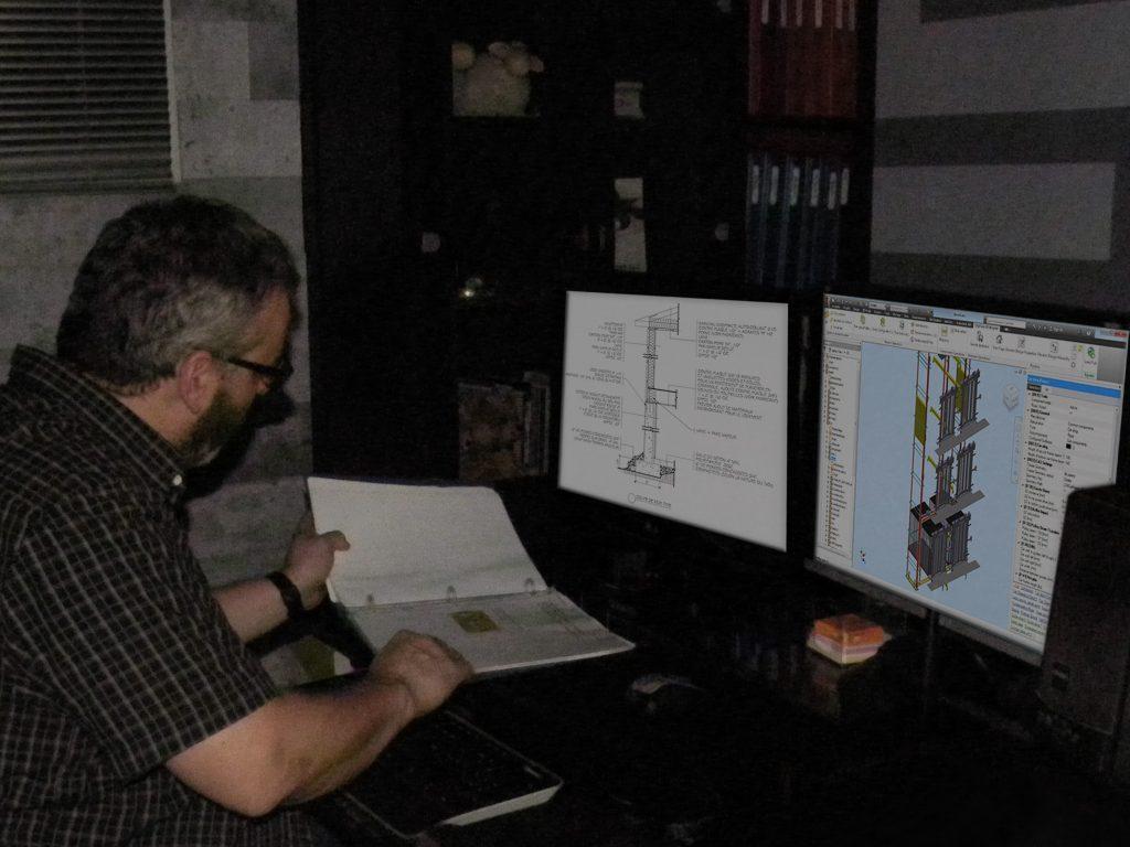 Nos équipements informatiques sont munis de logiciels de la compagnie Autodesk soitAutocadpour le dessin 2D et 3D, Inventor et Revit pour la modélisation 3D. Notre entreprise se fait un devoir de suivreavec intérêt l'évolution constante de la technologie ainsi que les mises à niveau de leurs applications concernant l'ensemble de notre domaine d'expertise..