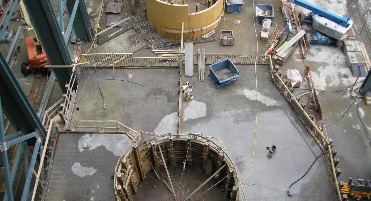 Centrale Romaine 2 vue en plongée